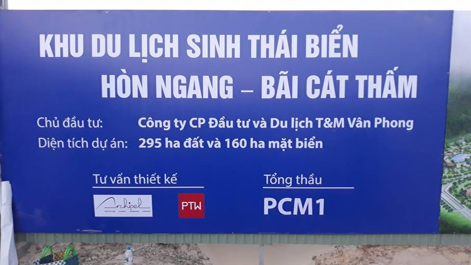Khởi công xây dựng khu du lịch sinh thái biển Hòn Ngang