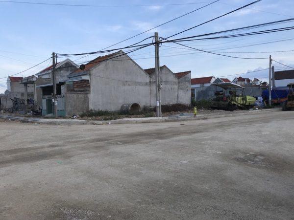 Tái định cư Vạn Giã Lô Góc 2 Mặt Tiền