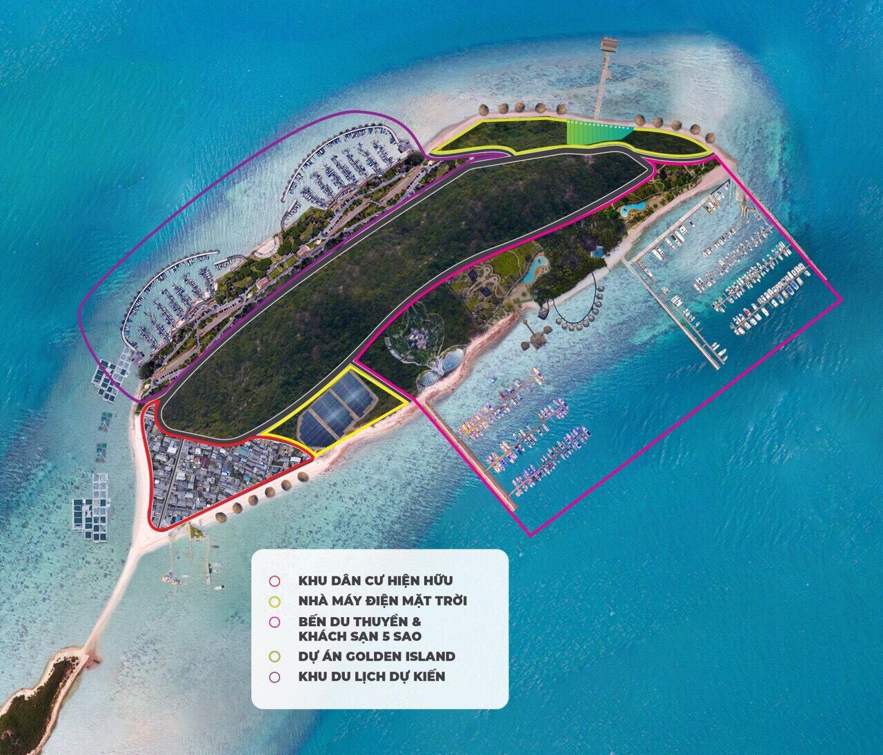 Mẫu dự án đầu tư khu du lịch sinh thái đảo Điệp Sơn