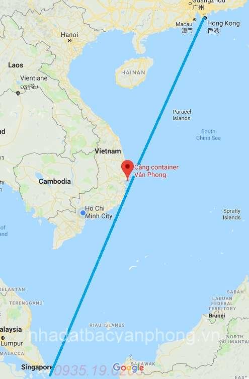 Cảng trung chuyển quốc tế Vịnh Vân Phong