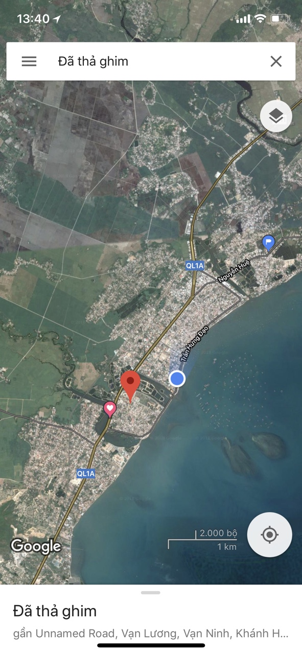 Khu Tái Định Cư trung tâm thị trấn Vạn Giã