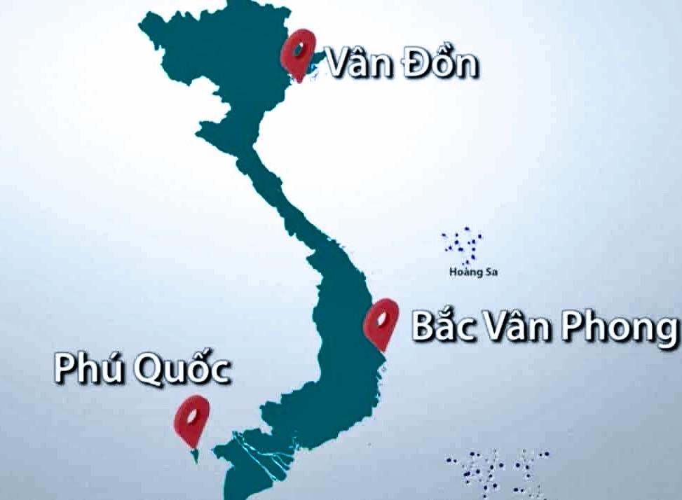 Bắc Vân Phong nằm ở đâu thuộc tỉnh Khánh Hoà?