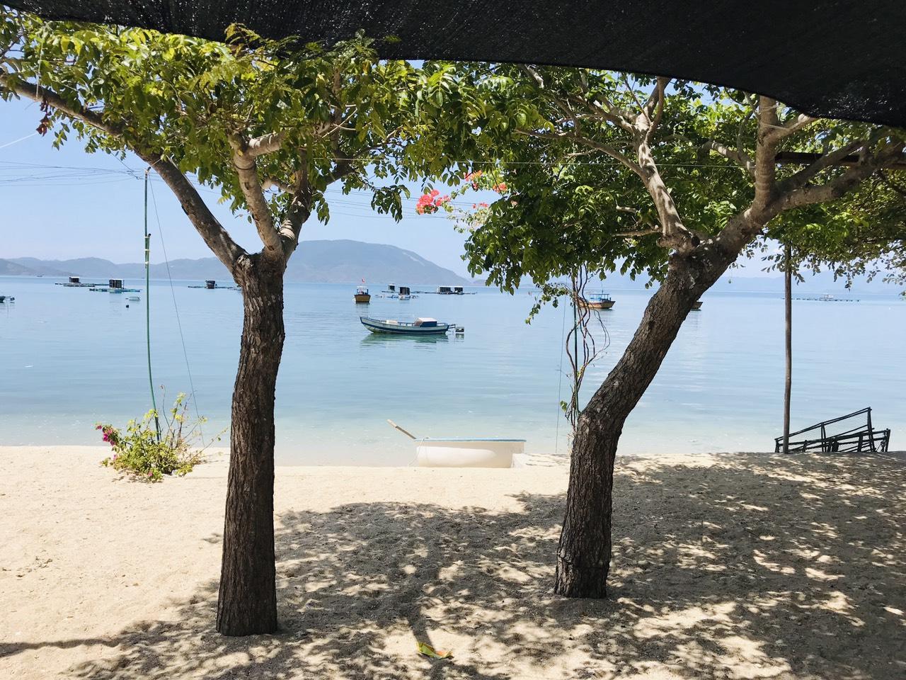 Mặt biển đảo Điệp Sơn
