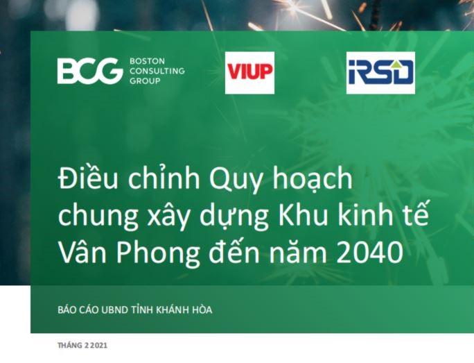 Tải file Quy Hoạch Bắc Vân Phong mới nhất 2021 (báo cáo của tỉnh Khánh Hòa t4/2021)